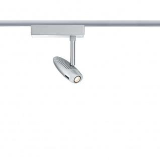 Paulmann URail System LED Spot Flood 1x10W Chrom matt/Chrom 230V Metall