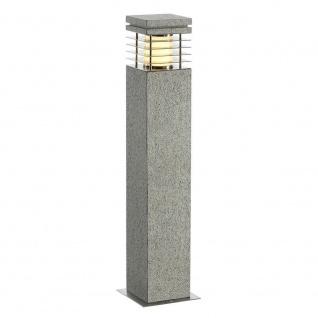 SLV Arrock Granite 70 Stehleuchte Granit salt & pepper E27 max. 15W 231411