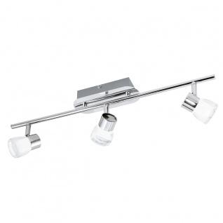 Eglo 94382 Perito LED Spot 3 x 3 W Stahl Alu Chrom Kunststoff klar satiniert