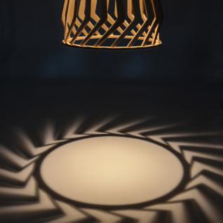 Licht-Trend Woody / Holz Pendelleuchte Ø 34 cm / Buche Hängelampe Hängeleuchte - Vorschau 4