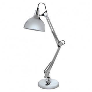Eglo 94702 Borgillio Tischleuchte Stahl Chrom