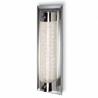 Mantra Deckenleuchte Tube Chrom Glas