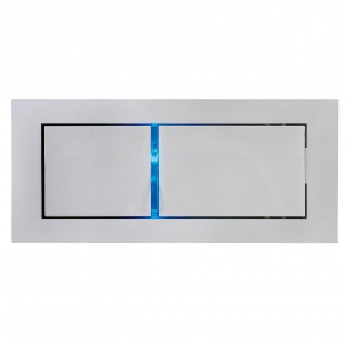 SLV Bedside Links Wandleuchte silbergrau 3W LED 3000K mit blauem Orientierungslicht 146242 - Vorschau 1