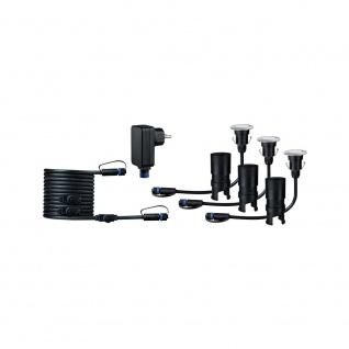 Paulmann LED Plug & Shine Floor Mini Basisset IP65 24V 3000K 3x2, 5W 93697