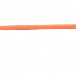 Textilkabel orange 2 x 0, 75mm 1 Meter Zubehör