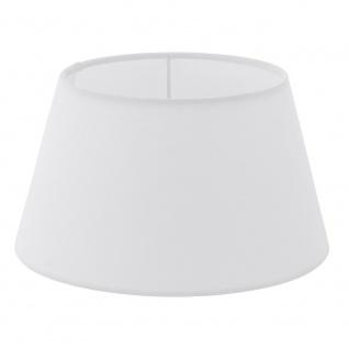 Eglo 49966 1+1 Vintage Lampenschirm Ø 25cm Weiß