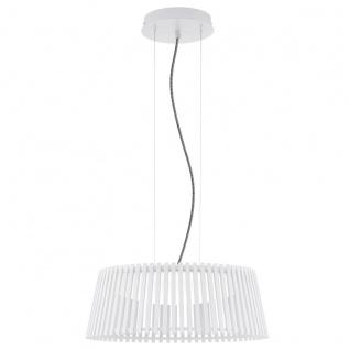 Roverato Design LED Hängeleuchte weiss 18W Hängelampe