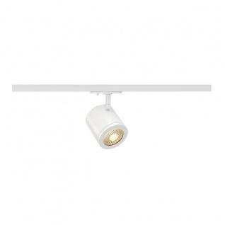 SLV Enola_C Spot rund weiss 9W LED 3000K 55° inkl. 1P. -Adapter 143951