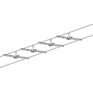 Paulmann Seilsystem Togo Chrom mit 4 Spots GU5, 3 94146