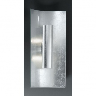 Kögl 92222 Aura Silber Wand- & Deckenleuchte 2-flammig Silber Silber 45cm