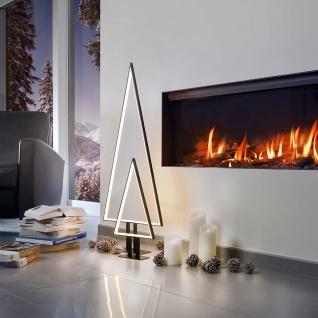 LED Tischleuchte Pine 50cm Silberfarben