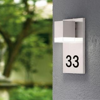 Eglo 93369 Pardela 1 LED Aussen-Wandleuchte Edelstahl