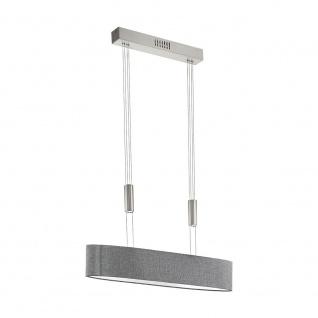Eglo 95349 Romao LED Hängeleuchte 2000lm Nickel-Matt Chrom Grau