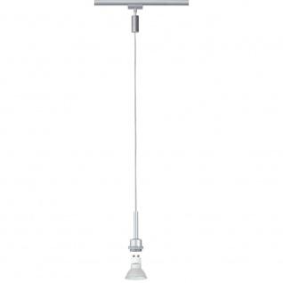 Paulmann URail System DecoSystems LED Pendel Blanko 1x3, 5W GZ10 230V Chrom matt Met.