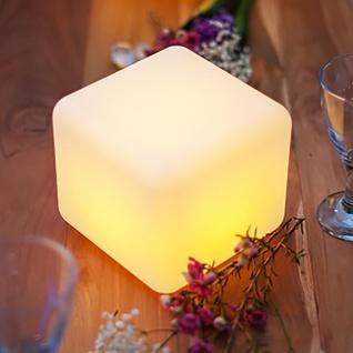 Akku LED-Tischlampe Dice S mit App-Steuerung