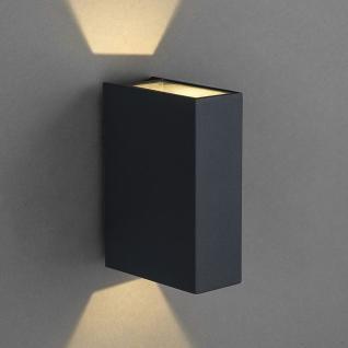 Licht-Trend Dra / LED Aussen-Wandleuchte 12 cm Up&Down / Anthrazit