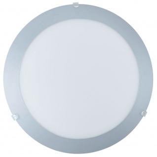 Eglo 89248 Mars 1 Wand- & Deckenleuchte Ø 24, 5cm Weiß Silber