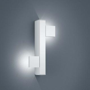 Helestra LED Wandleuchte Arta Weiß Chrom