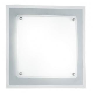 Wofi Kanpur Deckenleuchte 2-flammig Nickel matt Deckenlampe