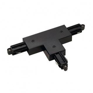 SLV T-Verbinder für 1-Phasen HV-Stromschiene Aufbauversion schwarz Erde Rechts 143080