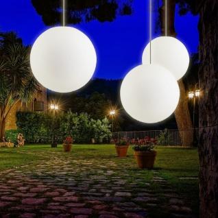 s.LUCE pro Globe+ Hängeleuchte Weiß matte Kugelleuchte Kugellampe Gartenkugel