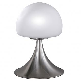 Wofi Barney Tischleuchte Nickel matt Tischlampe