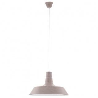 Eglo 49399 Somerton 1 Vintage Hängeleuchte Stahl Taupe-struktur