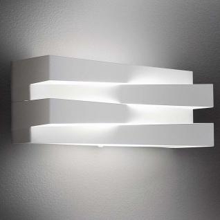 Panzeri Cross LED-Wandlampe 30cm 2340lm Weiß Designer Wandleuchte