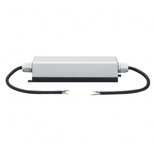 Paulmann Function YourLED Power Supply IP65 60W 12V DC Grau Schwarz 70201