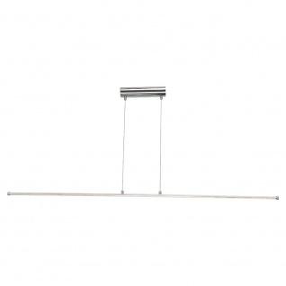 LED-Hängeleuchte aus Aluminium 14, 5 W 142cm Chrom Hängelampe