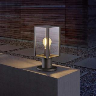 Helestra LED Garten-Sockelleuchte Skip IP44 550lm Graphit