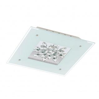 Eglo 93574 Benalua LED Wand- & Deckenleuchte 4-flammig Weiß Klar Weiß