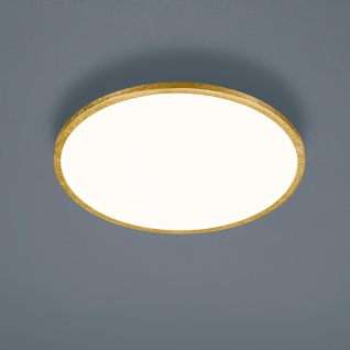 Helestra LED Deckenlampe Rack Blattgold 15/1956.09