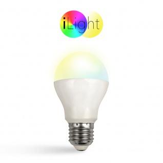 iLight E27 LED Glühbirne 6W CCT Farbwechsel Wifi Steuerung iPhone iPad LED-Lampe