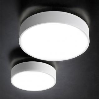 Licht-Trend Cara 40 dimmbare LED-Deckenleuchte mit 2000 lm 40cm Weiss LED Deckenlampe