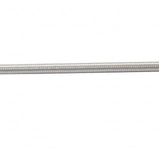 Textilkabel silbergrau titan / 2 x 0, 75mm / 1 Meter