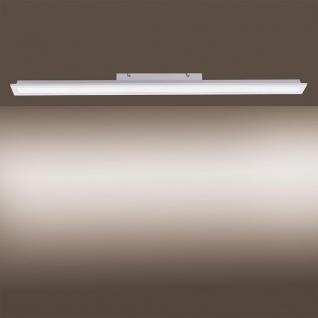 LeuchtenDirekt LED Deckenlampe Fleet 100x10cm Weiß