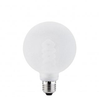 Paulmann Energiesparlampe Globe 100 10W E27 Eiskristall klar 88058