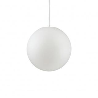 Ideal Lux 136004 Sole Aussenleuchte Hängekugel Ø 40cm Weiß Kugellampe