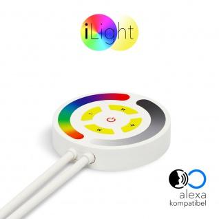 s.LUCE iLight Touch Schalter mit Controller Alexa Kompatibel für Strip RGB Schalter Fernbedienung