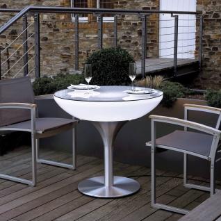 Moree Lounge Table Outdoor Tisch 75cm Dekolampe Aussen