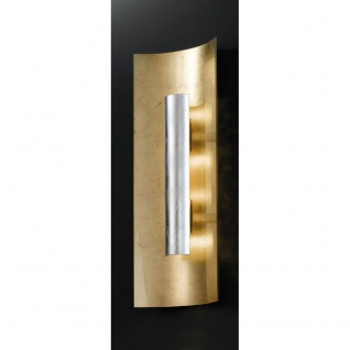 Kögl 98332 Aura Gold Wand- & Deckenleuchte 3-flammig Silber 60cm