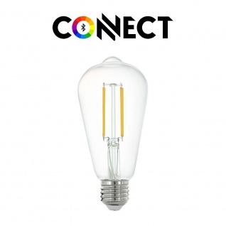 Glühbirnen Beleuchtung Wohnraum Dimmbare E27 LED Leuchtmittel mit Fernbedienung