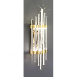 Kolarz Ontario Wandleuchte Gold 2-flammig Wandlampe