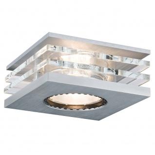 Paulmann CombiSystems Deco Einbauleuchte Layer max.50W Alu-Gebürstet Glas 93720