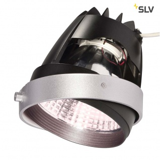 SLV COB LED Modul für Aixlight Pro Einbaurahmen Silbergrau 70° Cri65+ SLV 115247