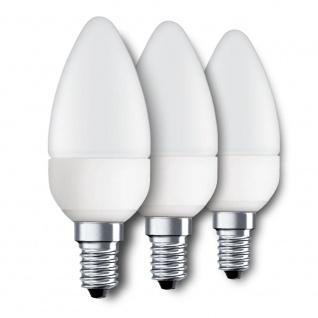 3x E14 LED-Leuchtmittel Kerze 3er Set 4W 320lm LED Kerzenlampe