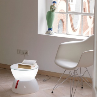 Moree Lounge Mini Beistelltisch Ø 33cm Dekorationslampe
