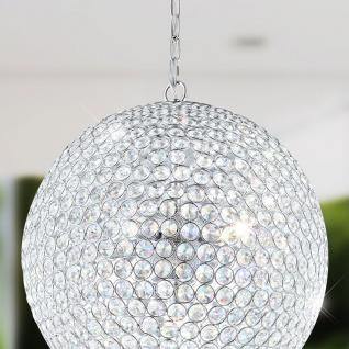 Belas Glitzernde LED Hängekugel Kristall 5 x 320lm Hängelampe Lüster