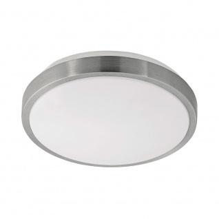 Eglo 96032 Competa 1 LED Deckenleuchte Ø 24cm 2400lm Weiß Nickel-Matt